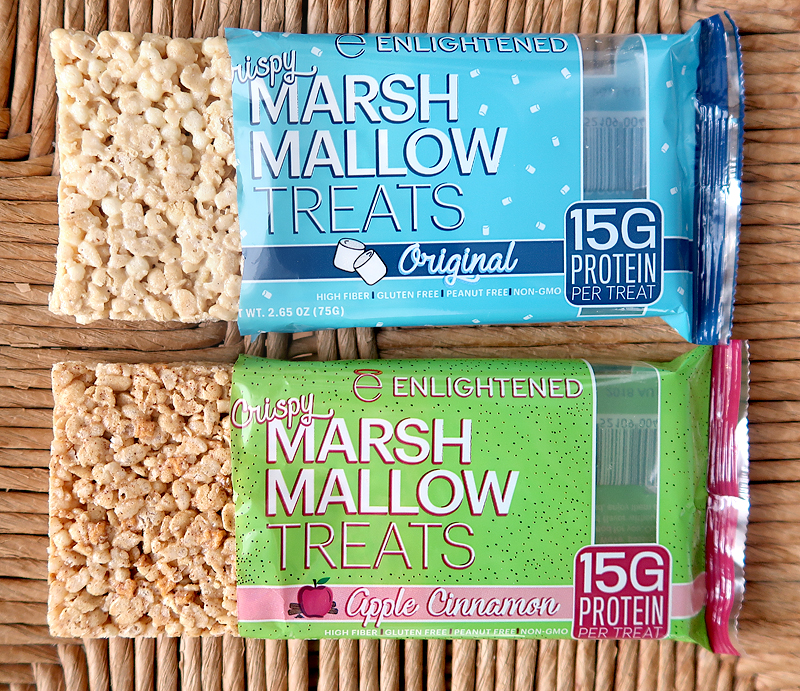 Enlightened Protein Marshmallow Treats Review