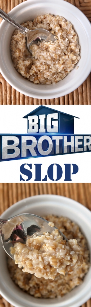 Official Big Brother Slop Recipe - just how bad can it be?