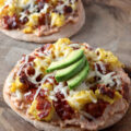 Easy Breakfast Pita Pizzas