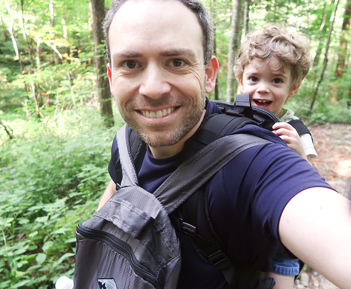 Freeloader toddler carrier review