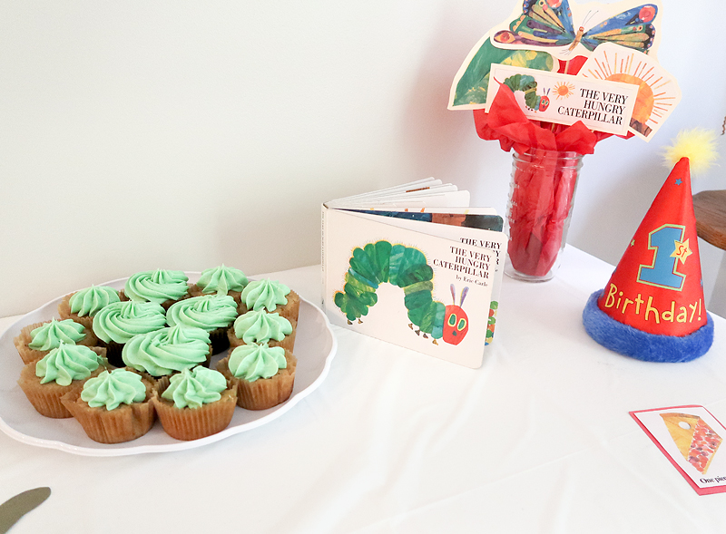 Ideas for a Very Hungry Caterpillar birthday party
