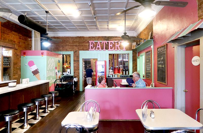 Review of JJ's Eatery & Ice Cream in Jonesborough