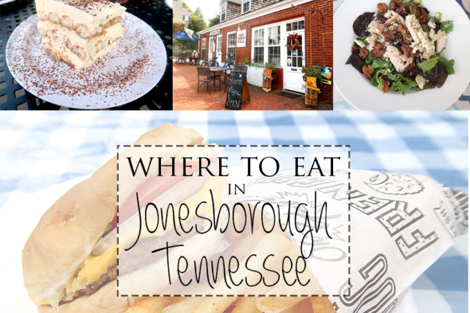 Where To Eat In Jonesborough, Tennessee