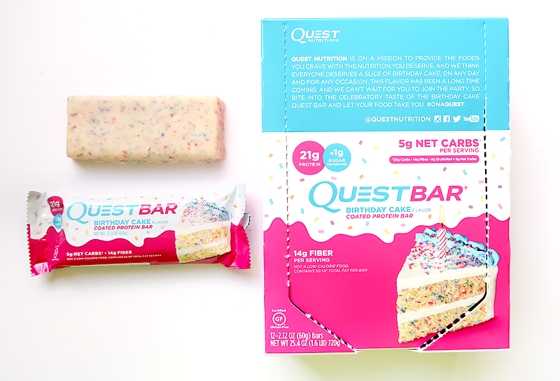 Quest Bar Birthday Cake.Birthday Cake Quest Bar Review Brownie Bites Blog