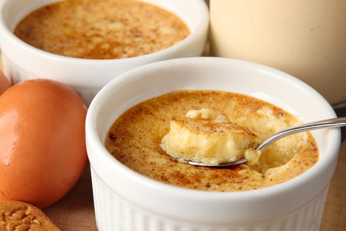 Easy Eggnog Custard