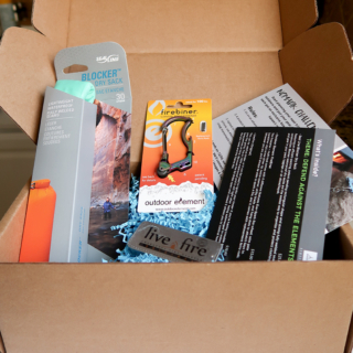 Nomadik is a subscription box for campers, hikers, and people who like to be outside!
