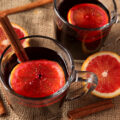 A classic mulled wine recipe gets a slight twist with lovely tart blood oranges.