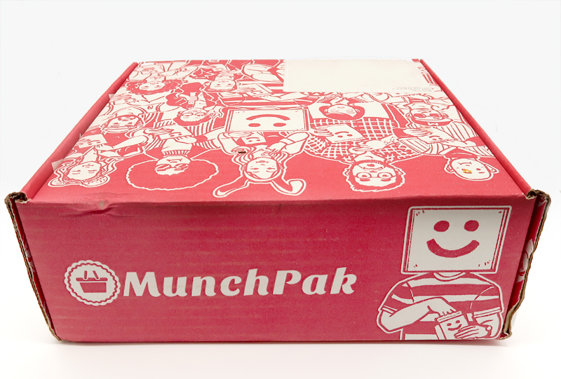Munchpack Subscription Box Unboxing and Review