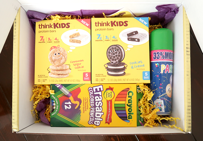 cute PR package from thinkKIDS