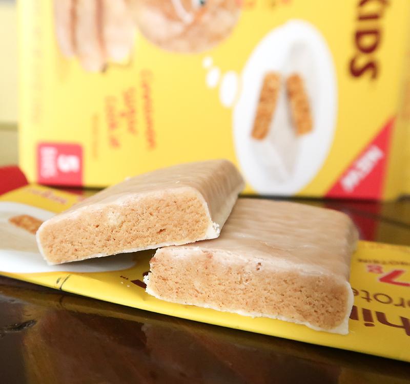 ThinkKIDS cinnamon sugar cookie protein bar review