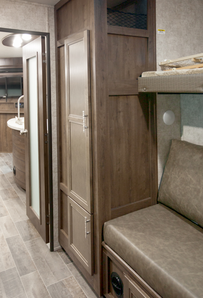 Highland Ridge Open Range 310BHS Bunk Room Storage