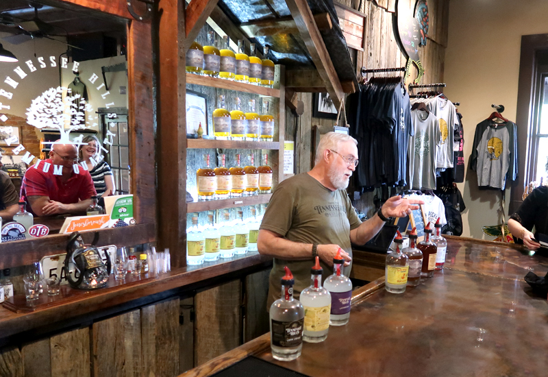 Tennessee Hills Distillery Tour