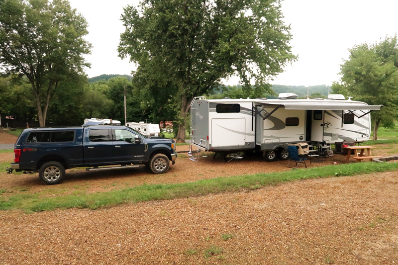 Our stay at the most friendly campground we have ever stayed in - Lazy Llama Campground in Greeneville Tennessee