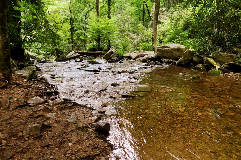 Margarette Falls Hike Information in Greeneville