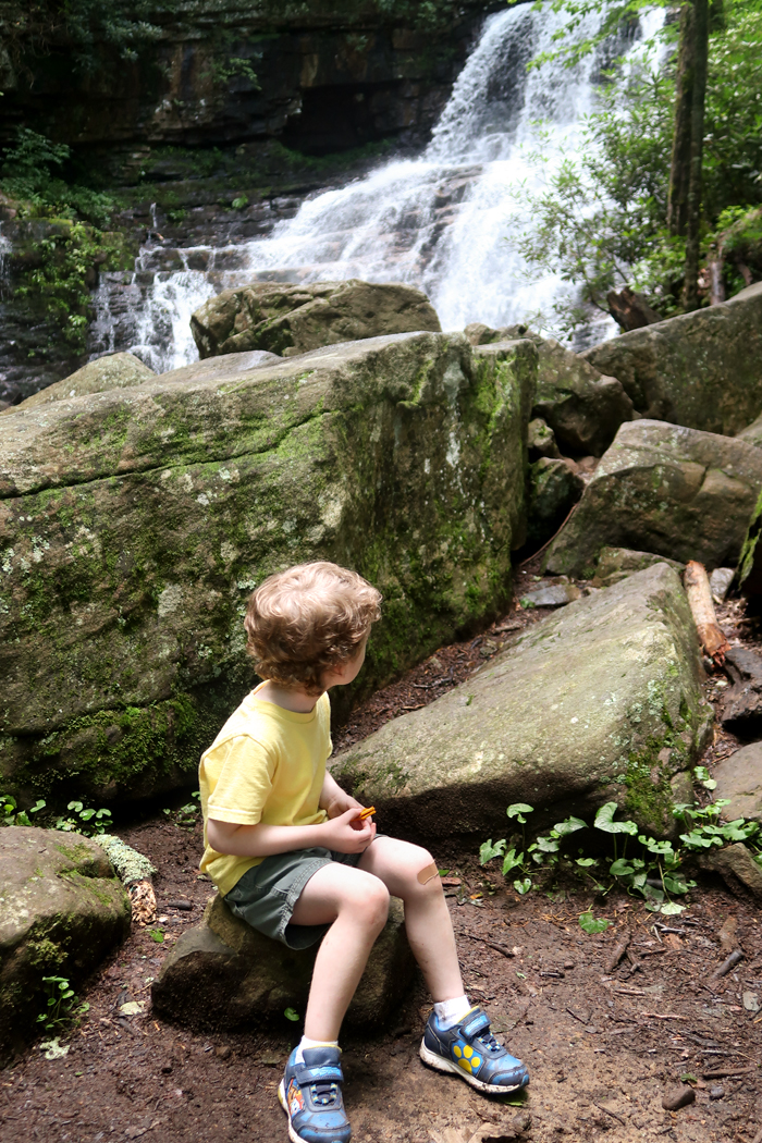 Margarette Falls Hike Information in Greeneville