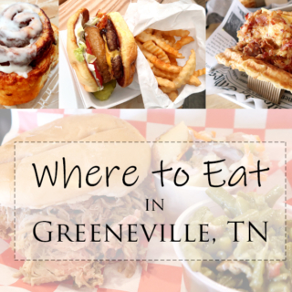 Where to eat in Greeneville Tennessee! A guide of all the restaurants in Greeneville that you should eat during your stay.