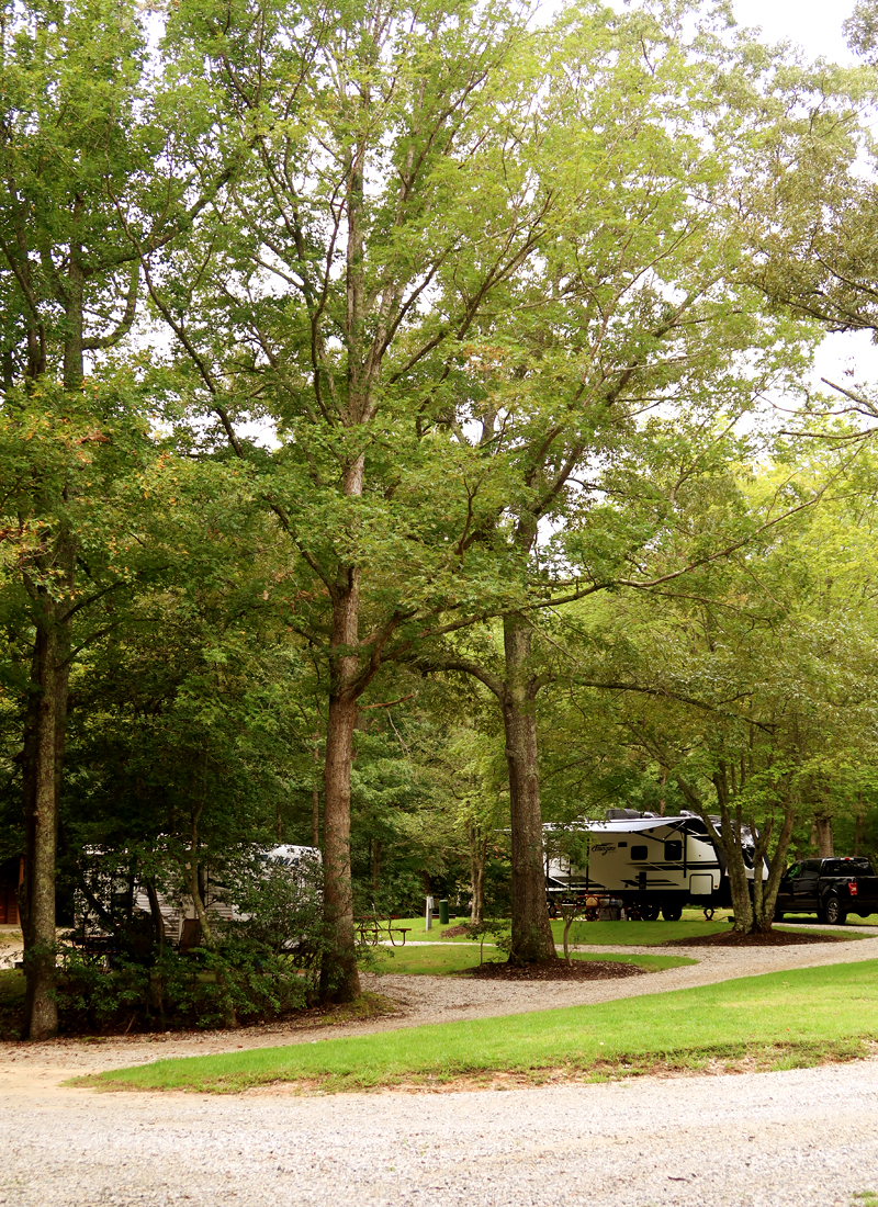 Williamsburg KOA Campground review