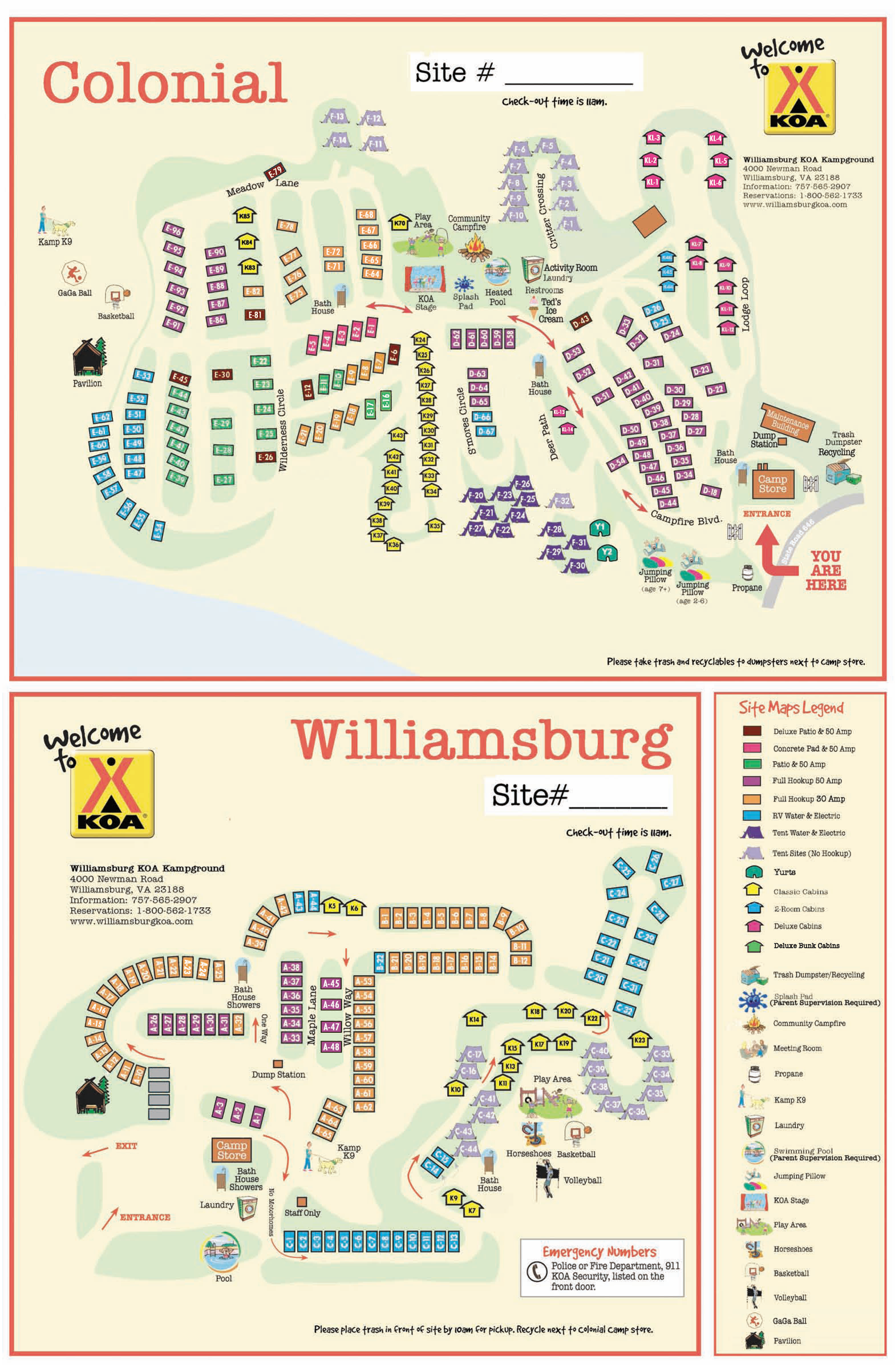 williamsburg-site-map