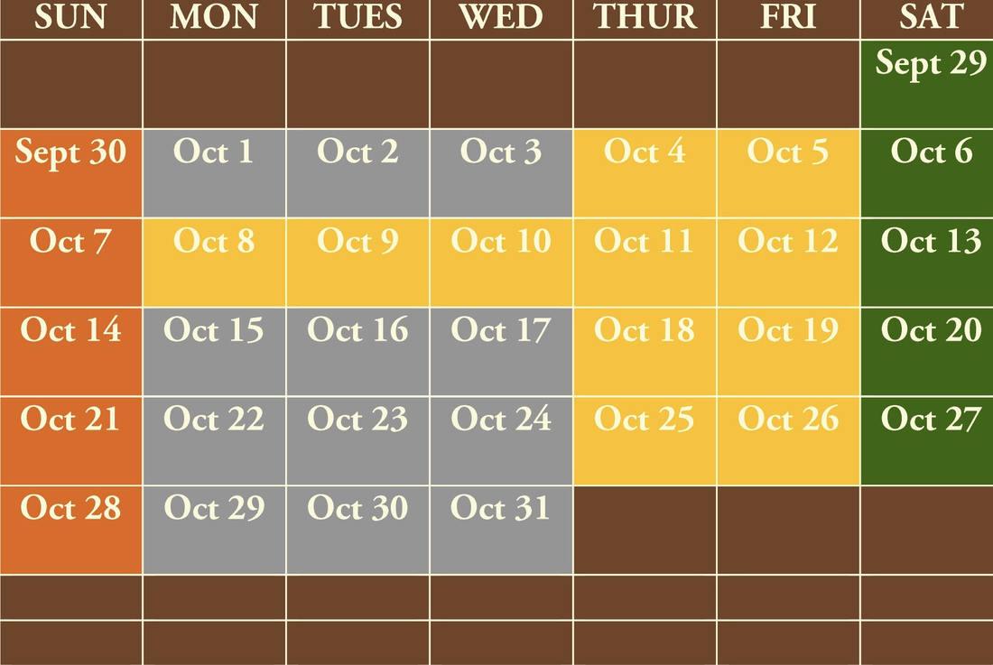 deepwell calendar