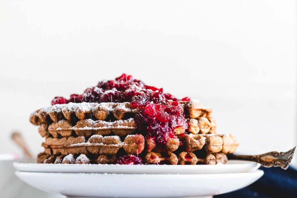Perfect Christmas morning breakfast ideas like cinnamon rolls, scones, pancakes, waffles, and more.