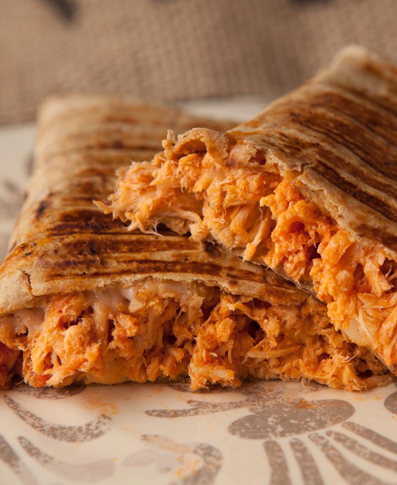 Low Carb Chicken Parmesan Wraps Brownie Bites Blog