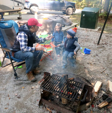 Bandy Creek Campground Review - where to camp in Big South Fork