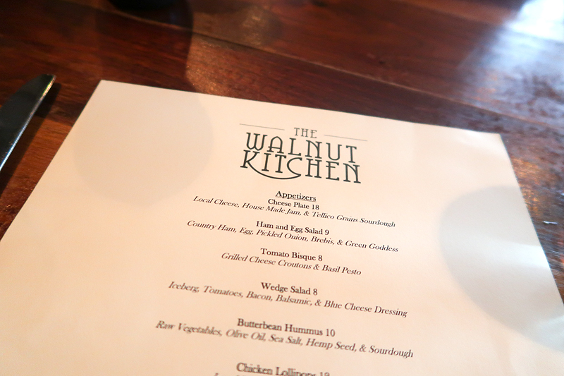 Review of The Walnut Kitchen restaurant in Maryville, TN