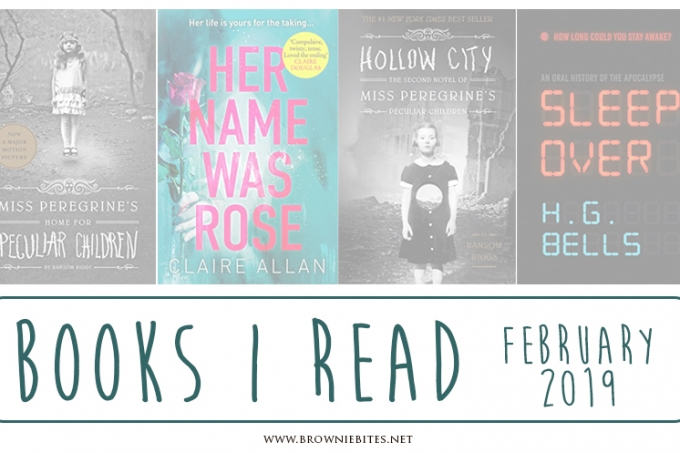 What I Read in February 2019 | Book Reviews