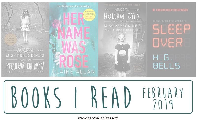 A list of book recommendations from what I read in February 2019