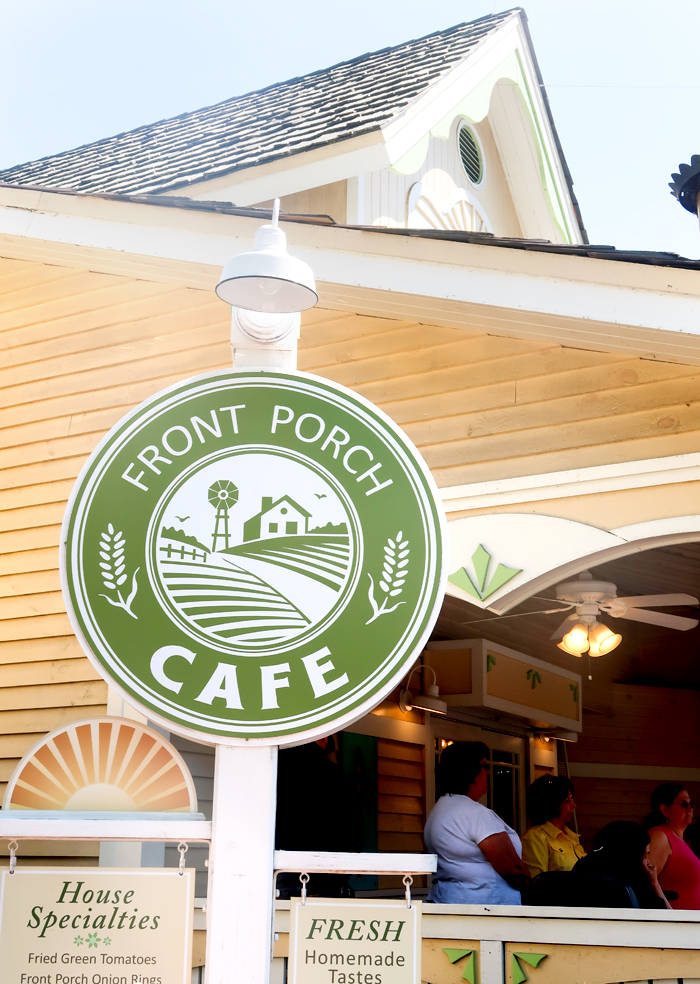 Front Porch Cafe Review   Lunch at Dollywood