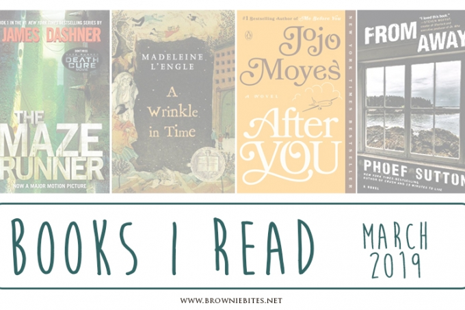 What I Read In March 2019 | Book Recommendations