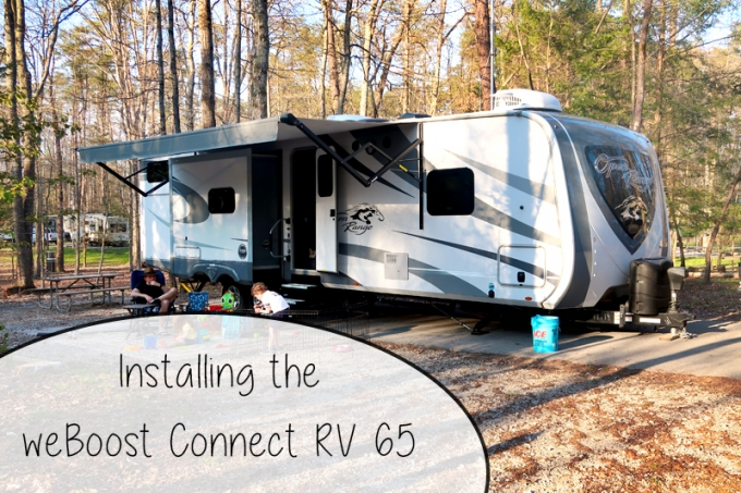 How To Get Better Internet At Campgrounds | weBoost Connect RV 65 Install and Test