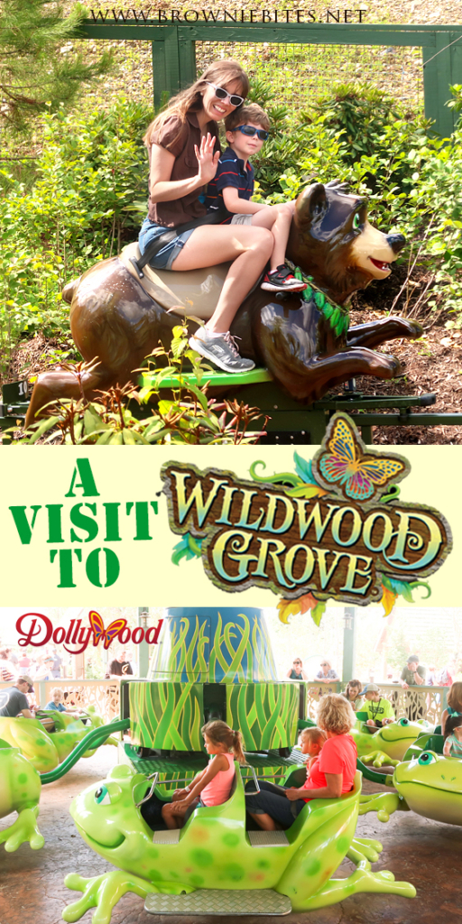 Visiting Dollywood's new Wildwood Grove expansion!