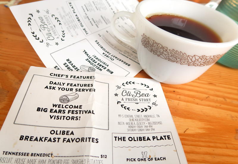 Great coffee at OliBea Knoxville