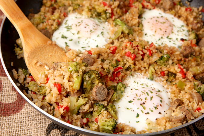 Delish Low Carb Breakfast Skillet