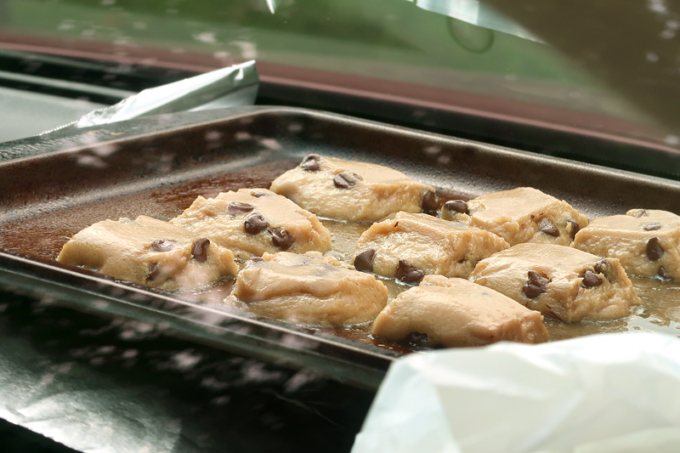 I Actually Baked Cookies In My Car