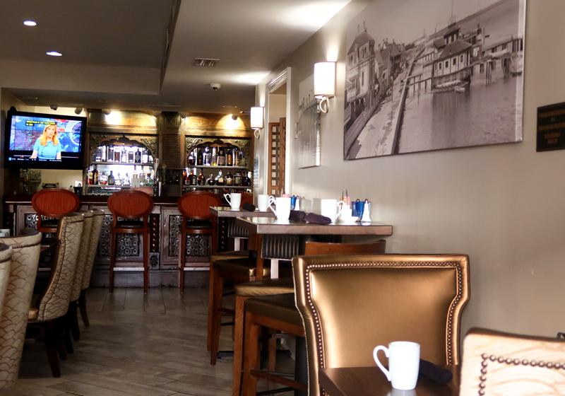 Interior of Aviles Restaurant in St. Augustine