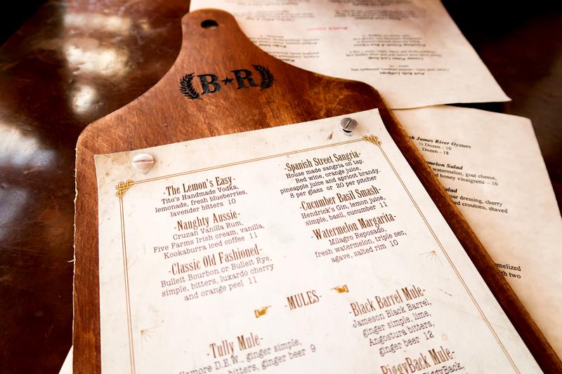 Drink menu at Barley Republic in St. Augustine