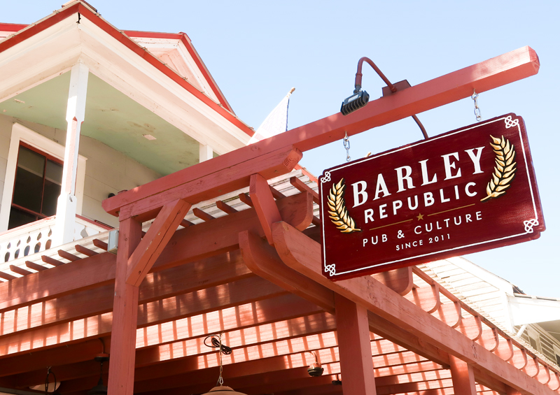 Barley Republic exterior in St. Augustine