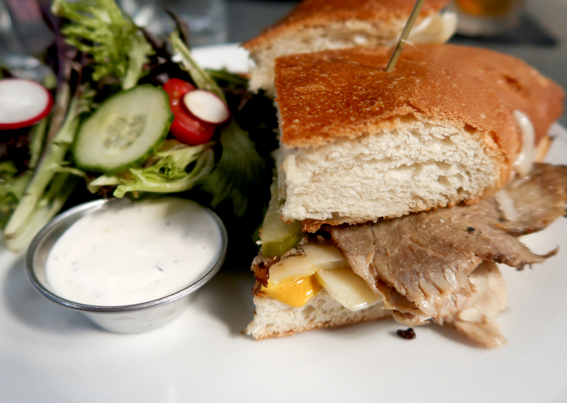 Grilled Pork Shoulder Cuban Sandwich at Ice Plant in St. Augustine