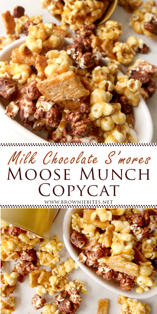 How to make milk chocolate s'mores moose munch