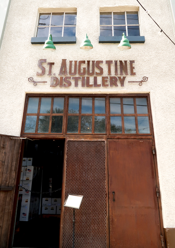 Entrance to St. Augustine Distillery