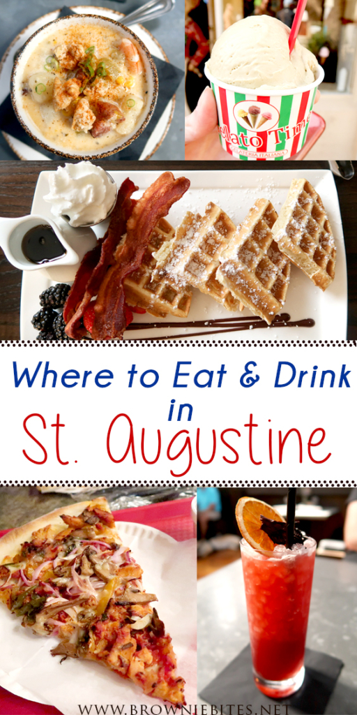 Where to eat and drink in St. Augustine!