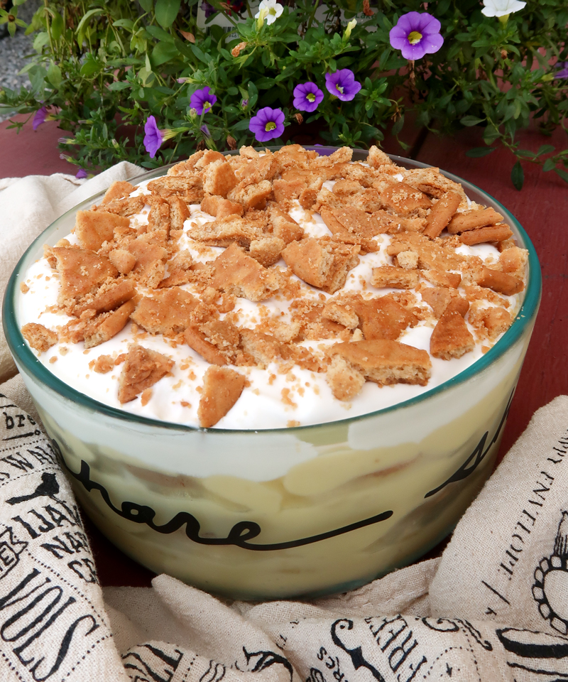 Yummy Peanut Butter Banana Pudding From Scratch!