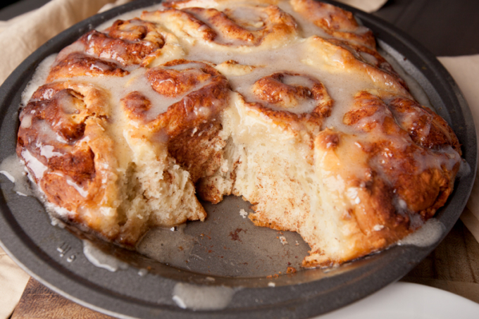 The Best Overnight Cinnamon Rolls